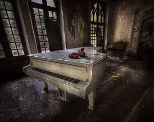 Great-white-piano-in-abandoned-manor-house