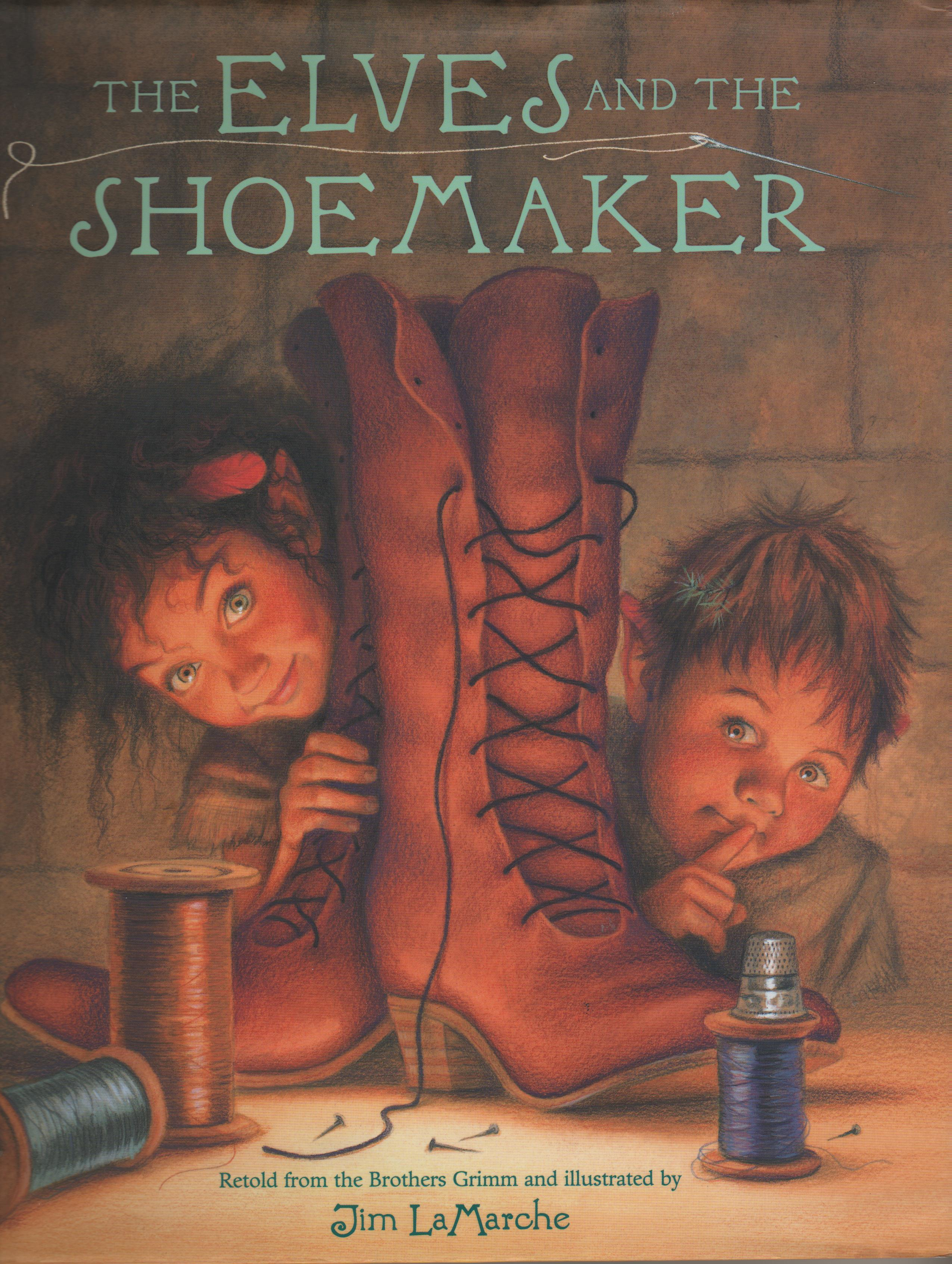 Story Plots: A Grimms Fairy Tales Lesson Education Shoemaker and the elves story with pictures