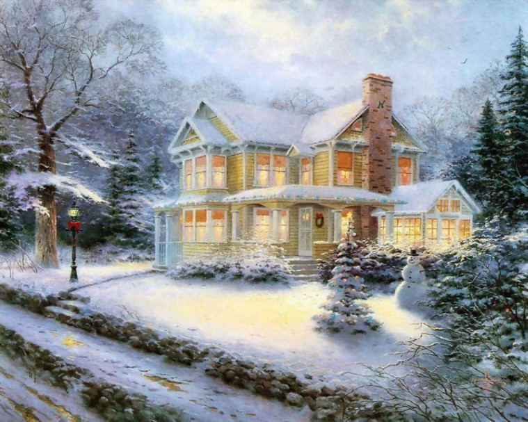 Thomas-Kinkade-Winter-winter-23436576-1280-1024